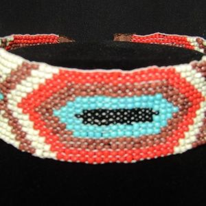 Jewelry - Vintage handcrafted Indian beadwork choker